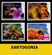 GREECE 2018, STAMP, 20 MAY – WORLD BEE DAY, 7th series, ΜΝΗ