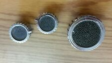 Vintage Chrome Finish Metal KENMORE Whirlpool WASHING MACHINE Knobs   10-8