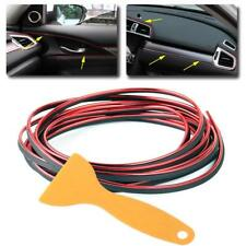 5M Red Universal Car Styling Moulding Decorative Filler Strip Interior Exterior