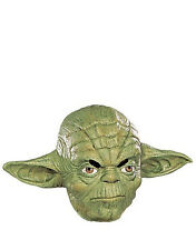 Star Wars Costume Accessory, Mens Yoda 3/4 Mask, Age 14+