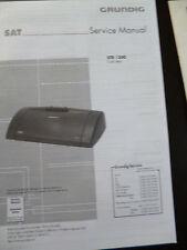 Original Service Manual Grundig STR 1300