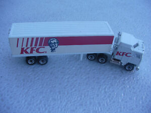 KFC Kenworth Tractor & Trailer Matchbox 1981 Scale 1/100