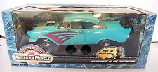 ERTL 1/18 1957 Chevy Bel Air Street Machine READY TO RUMBLE American Muscle 7929