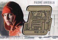 Star Wars Masterworks 2017, Droid Medallion Card ���Padme Amidala' #15/25