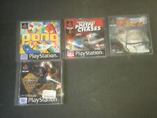 4 gebrauchte Playstation 1 Spiele Sammlung