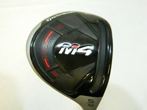 New Taylormade 2018 M4 18* 5 Fairway Wood FJ Atmos Regular flex Graphite M-4