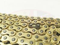 Heavy Duty Motorcycle Drive Chain 428-124 Gold