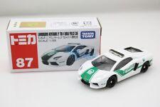 Takara Tomy Tomica 87 Lamborghini Aventador LP 700-4 Dubai Police Car 1 68