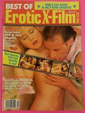 Vintage BEST OF EROTIC X-FILM GUIDE Magazine | Courtney Hill, Stephanie Rage XXX