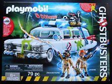 Playmobil 9220 Ghostbusters Auto Ecto 1 mit Licht u. Sound Neu und OVP