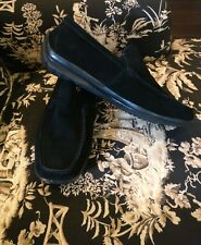VIA SPIGA STUDIO Mens Black Driving Loafers 8.5 M