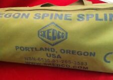 NEW SKEDCO OREGON SPINE SPLINT II (OSS II) COYOTE BROWN CASE GREEN COMPONENTS