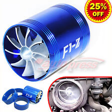 64-74mm Supercharger Turbonator Turbo F1-Z Fuel Saver ECO Fan Dual Propellers BL