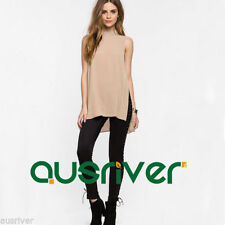 Chiffon Halter Casual Tops & Blouses for Women