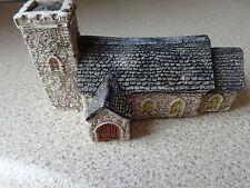 N gauge village church  buildings layouts scenery  accessories train