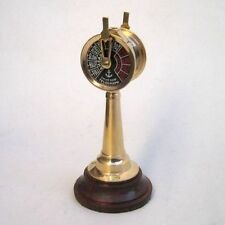 "BRASS ENGINE ORDER TELEGRAPH 5"" - CHADBURN-  NAUTICAL - MARITIME"