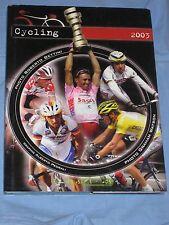 CYCLING 2003 - a cura dell' Union Cycliste Internationale (H4)