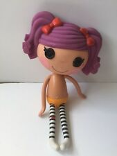 "LALALOOPSY Large Full Size 12"" Peanut Big Top Toy Doll Girl Button Eyes MGA"