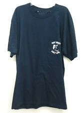 New Buckle x Salt Life Mens Navy Fish Pocket Casual Basic Tee T-Shirt Size Large