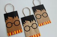 Harry Potter Favor bags, party favors, Goodie Bags,Party supplies  SET OF 8