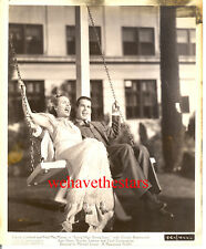 Vintage Carole Lombard Fred MacMurray SWING HIGH '36 Publicity Portrait