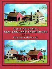 Cut & Assemble New England Farmhouse