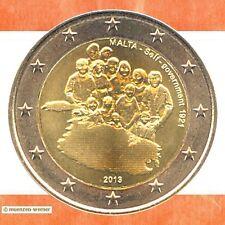 Sondermünzen Malta: 2 Euro Münze 2013 Selbstverwaltung Sondermünze Gedenkmünze