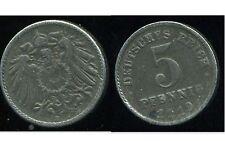 ALLEMAGNE 5 pfennig  1919 F