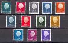 Nederland 465b 618b-634b Juliana Fosforcerend papier 1953 luxe gestempeld/USED