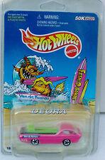 Hot Wheels Van De Kamp's Fish-O-Saurs Limited Edition Pink Redline Deora 1997