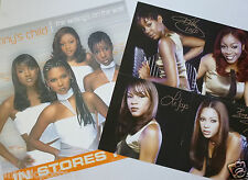 "Destiny'S Child ""Writing'S On The Wall"" 2-Sided U.S. Promo Poster/Flats- Beyonce"