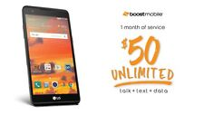 LG X Power 16GB LTE Smartphone for Boost Mobile - New with $50 Service Credit