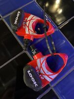 Look PP337 Arc Road Bike Cycling Clipless Pedals Red
