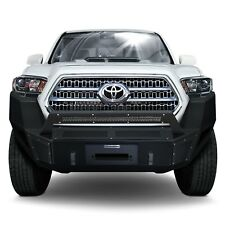 For Toyota Tacoma 16-20 BR5 Replacement Full Width Black Front Winch HD Bumper