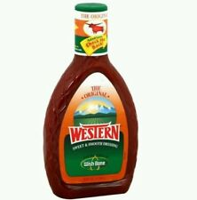 2 PACK New The Original Western Sweet & Smooth Salad Dressing Wishbone 16 oz