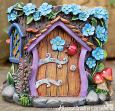 Fairy House Tree Stump Planter Pot garden ornament decoration Pixie lover gift