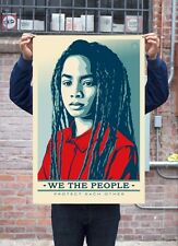 Shepard Fairey - Protect Each Other We the People offset print Not Signed Obey