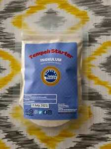 RAPRIMA-Tempeh Starter 50 gram/Live Culture/ Ragi Tempe -REPACK-UK Free Postage