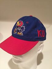 Vintage KU Kansas Jayhawks NCAA  Big Monster Logo Fitted 6 7/8 Hat by The Game