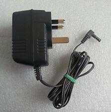 Panasonic Telefono adattatore per Regno Unito PQLV 207e kx-tg7321 Power Supply Piombo Grigio Cavo Pin