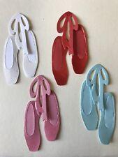 Ballet Shoes Pumps Dancing Lessons Dance Class Die Cuts (Toppers/Scrapbook)