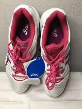Women's Asics Gel Rocket Volleyball White/pink/fuschia Athletic Shoes