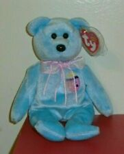 Ty Beanie Baby ~ EGGS II (2) the Easter Bear (8.5 Inch) MWMT
