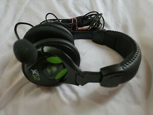Turtle Beach Ear Force x12 Green/Black Gaming Headset with Microphone  ☆Tested☆