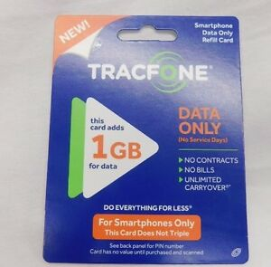 TRACFONE - Android $20 Data Plan Card(data Only) 1GB Sale