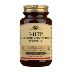 solgar 5-HTP L-5-Hydroxytryptophan Complex Vegetable 30 Capsules anxiety