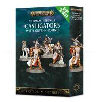 Warhammer AoS Stormcast Eternals EtB Castigators w/Gryph-Hound **NoS**