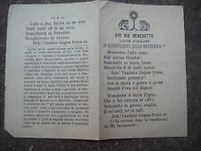 1891 FLORENCIA: FOLLETO CON LAUDE POPULAR PARA LA ERRADICAR LA BLASFEMIA.