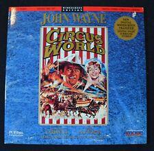 CIRCUS WORLD  (1964, WS, 2-DISC SET) JOHN WAYNE    LASERDISC