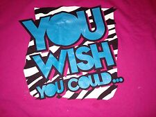 WWE Dolph Ziggler 5XL T-Shirt You Wish You Could Pull This Off WWF Pink